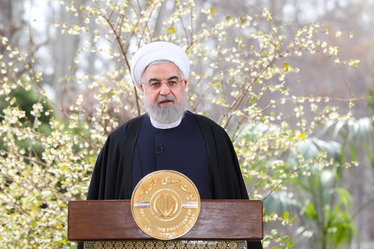 Iraans president Hassan Rouhani.