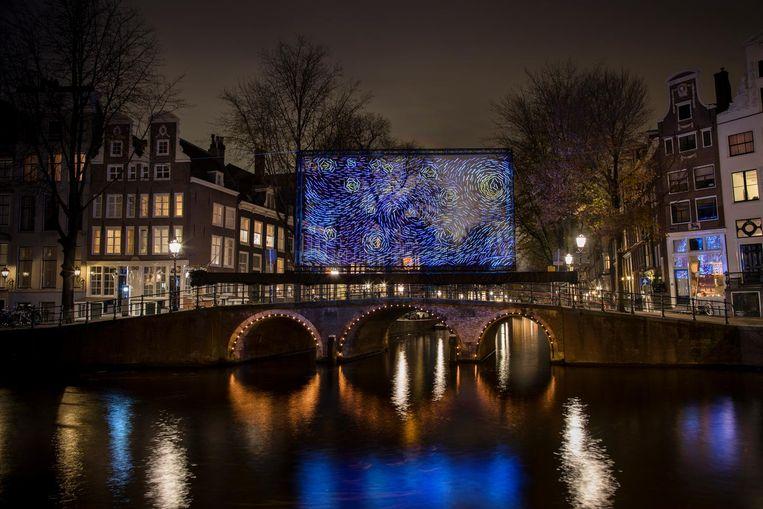 Starry Night Beeld Janus van den Eijnden