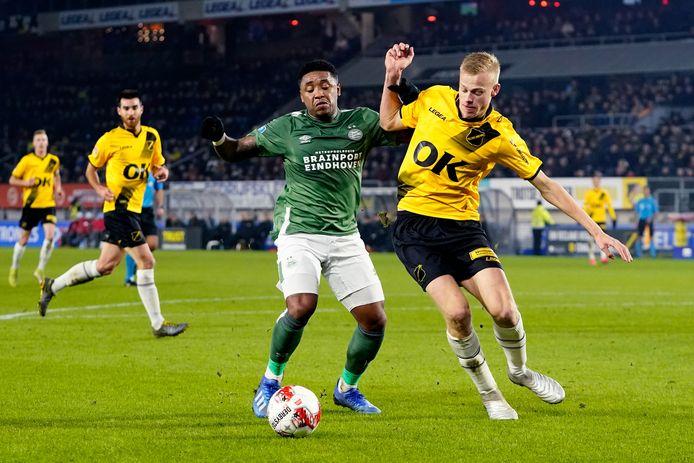 Vorig jaar werd PSV in de achtste finales uitgeschakeld door NAC Breda. Op 23 januari 2020 werd het 2-0 in het Rat Verlegh Stadion.