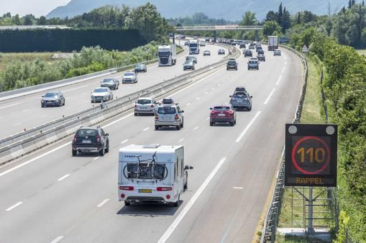 Ook volgend weekeinde worden er op de Franse snelwegen lange files verwacht.
