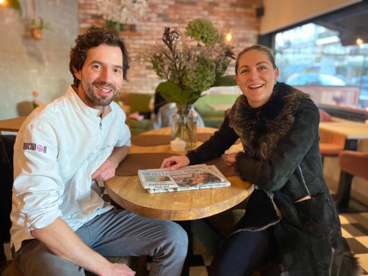 Ruben Smallegange en echtgenote Barbara openen Marie-Rose Bakery Café