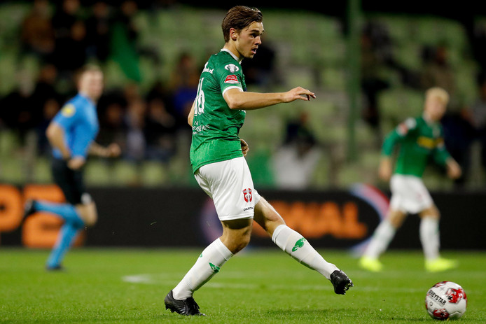 Middenvelder Thomas Kok is weer terug bij FC Dordrecht na een scheurtje in een bovenbeenspier.