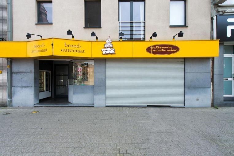 Bakkerij Verstraelen aan de Brusselpoort.