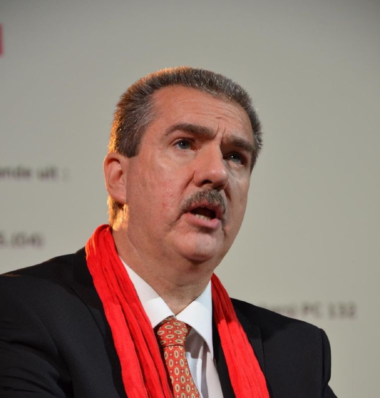 Alain Detemmerman, covoorzitter ABVV/FGTB Horval (voeding). Beeld kos