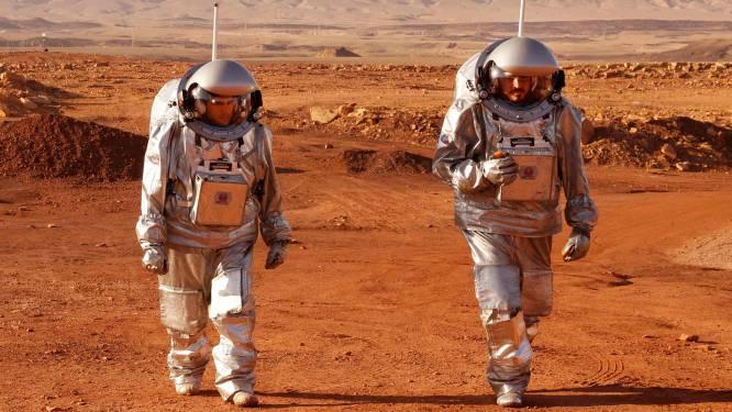 Nederlandse Thomas Wijnen op 'Marsmissie' zonder ooit in een raket te zitten