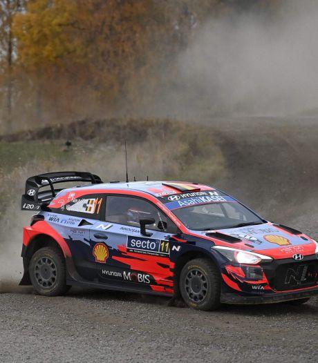 Thierry Neuville contraint à l'abandon au Rallye de Finlande
