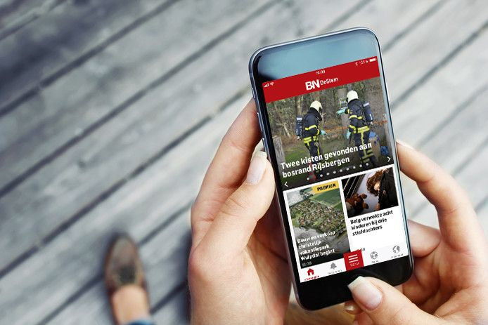 De app van BN DeStem.