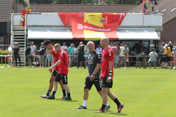 Het is nog onzeker over Terwolde het toneel wordt van de eerste trainingen van GA Eagles.