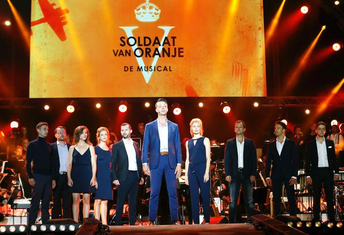 De musical Soldaat van Oranje is weer verlengd.