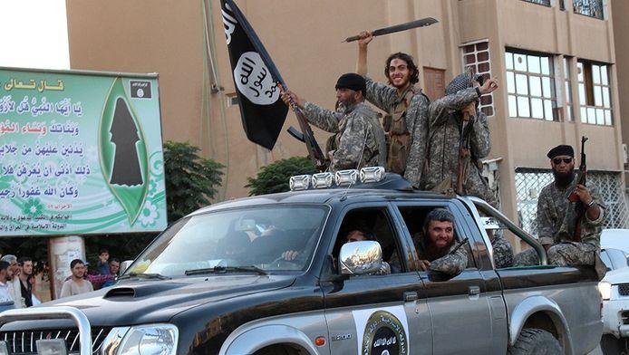 Rebellen van IS.