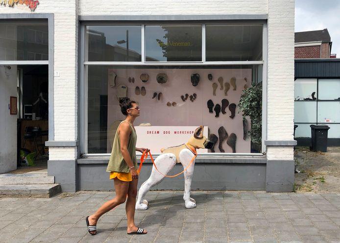 Dream Dog Workshop in Salon Veneman van Woody Veneman op de hoek van de Tongelresestraat en Geldropseweg.