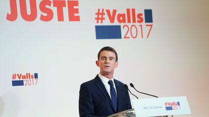 Franse presidentskandidaat Valls tegen Turks EU-lidmaatschap