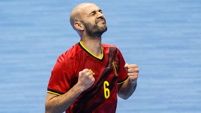 """Ahmed Sababti met Rode Duivels tegen Italië: """"We hebben het onszelf moeilijk gemaakt"""""""