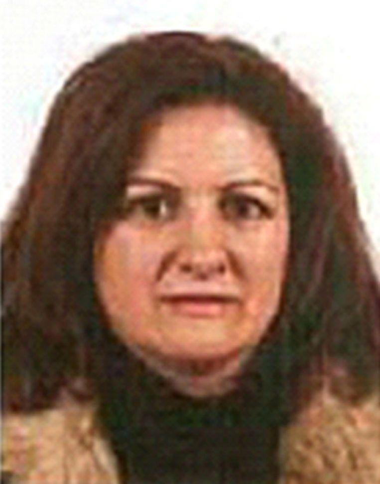 De vermeende ETA-terroriste Maria Natividad Jauregui Espina. Beeld belga