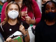 Les jeunes défilent pour le climat à Milan, derrière Greta Thunberg