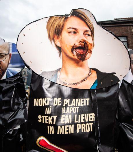 Anuna De Wever, Charles Michel, Joke Schauvliege: personne n'est épargné au carnaval d'Alost