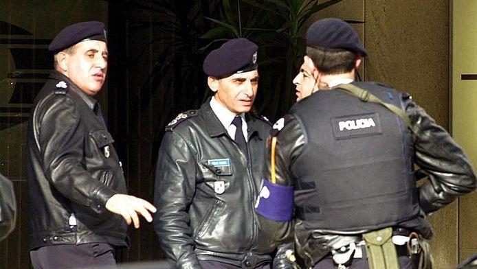 Politie in Portugal.
