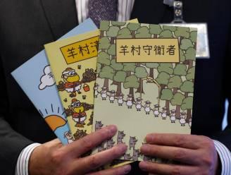 Arrestaties in Hongkong vanwege 'opruiende' kinderboeken over schapen