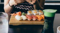Hoe sushi eten, kan helpen tegen droge ogen