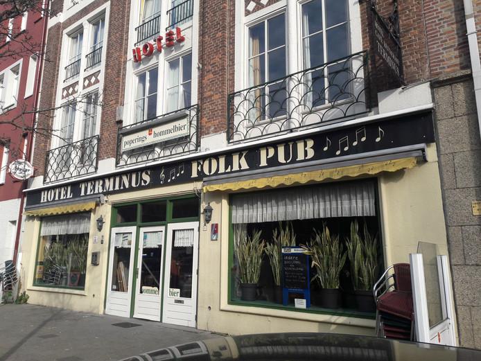 Hotel Terminus aan de Boschveldweg in Den Bosch.