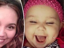 Amerikaanse moeder geeft baby wangpiercing om statement te maken