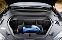 In de neus van de Ford Mustang Mach E kun je extra bagage kwijt, zoals de laadkabel