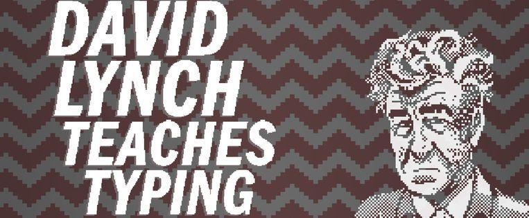 Leren typen met David Lynch: het is nog gekker dan het klinkt. Beeld Rhino Stew