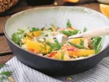 Wat Eten We Vandaag: Sinaasappel-venkelsalade met frisse dressing