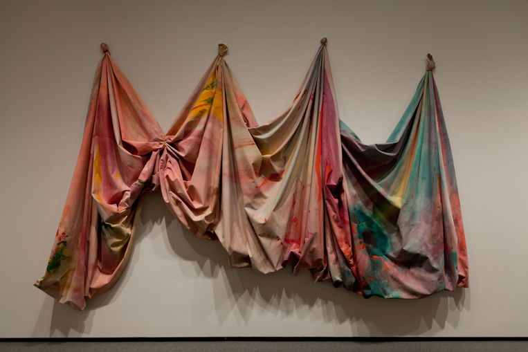 Relative by Sam Gilliam, 1969 (D4GNM6). Beeld Alamy Stock Photo