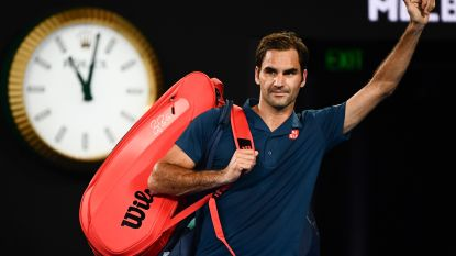 20-jarige Griek kegelt titelverdediger Roger Federer uit Australian Open