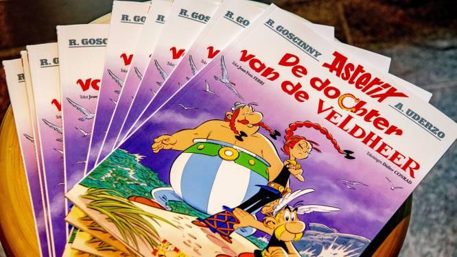 Schetsen ontdekt voor onvoltooid Asterix-stripboek
