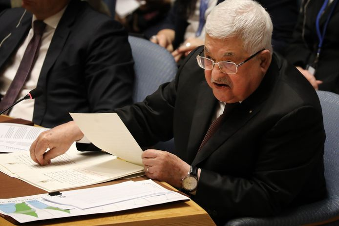 De Palestijnse president Mahmoud Abbas