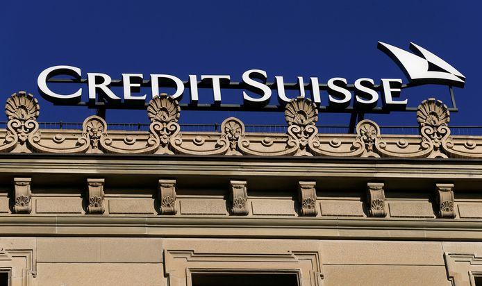 De Zwitserse bank Credit Suisse in Zürich.