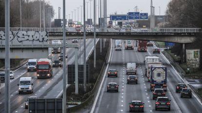 Opnieuw kettingbotsing op E17 in Kortrijk: vier vrachtwagens en één wagen betrokken