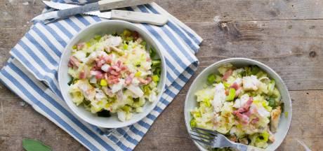 Wat Eten We Vandaag: Preistamppotje met kabeljauw en spekjes