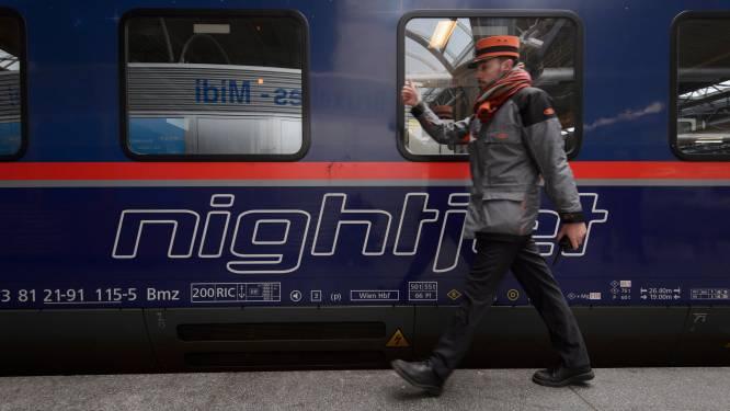 Nachttrein tussen België en Oostenrijk keert niet voor eind mei terug