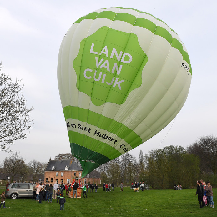 De regio kent wel één gezamenlijke luchtballon die het toerisme in het Land van Cuijk moet promoten. Vorige maand ging die nog de lucht in vanuit het Landschapspark in Mill.