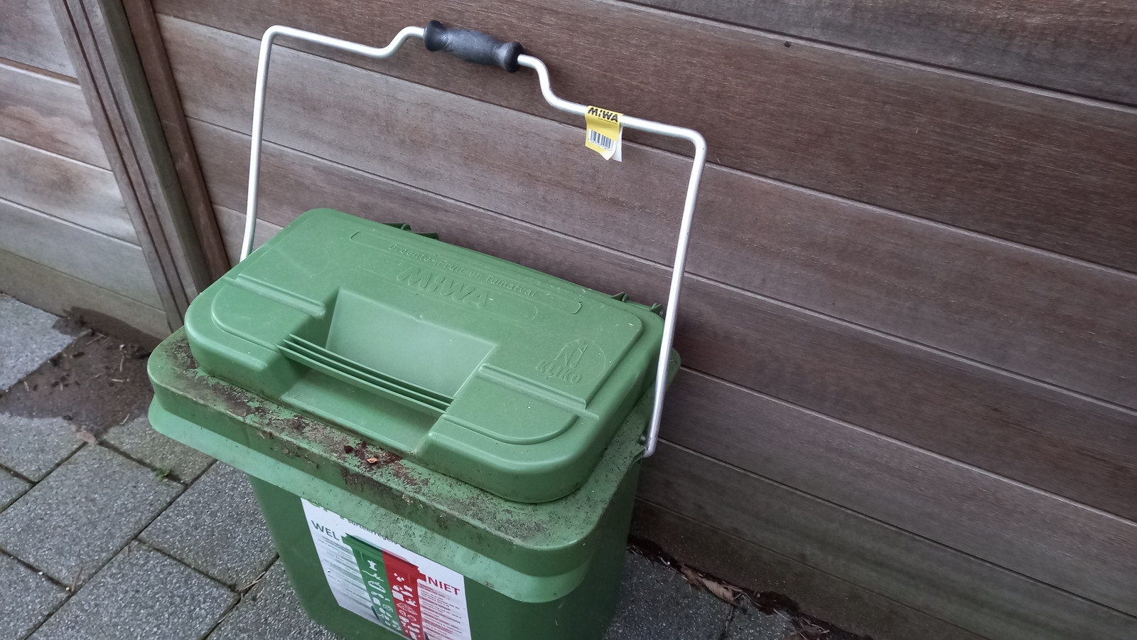 Er komen de laatste tijd veel klachten over labels die verdwijnen van GFT-containers die voor lediging worden aangeboden.