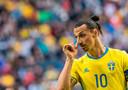 Ibrahimovic bij Zweden in 2016.