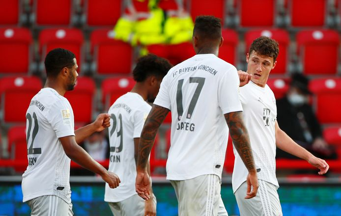 Sans forcer: le Bayern conserve quatre unités d'avance sur son dauphin.