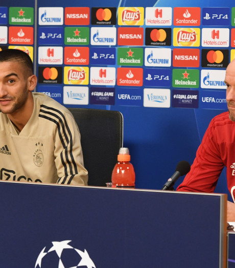 Ten Hag: Benfica is gelijkwaardig aan Ajax