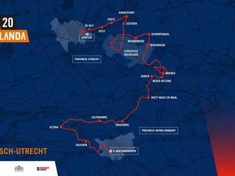 Deze Brabantse plaatsen doet de Vuelta allemaal aan in 2020