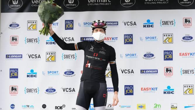 """Rutger Wouters gaat voor nieuwe tijdrittitel bij de elite zonder contract: """"Mijn fiets is intussen elf jaar oud"""""""