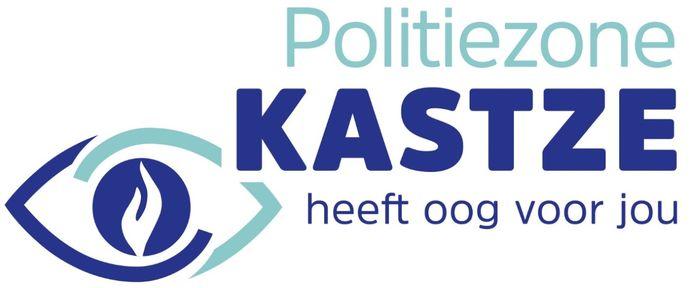 Het nieuwe logo van politiezone KASTZE.