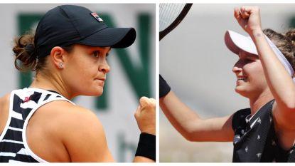 Barty en Vondrousova spelen vrouwenfinale op Roland Garros