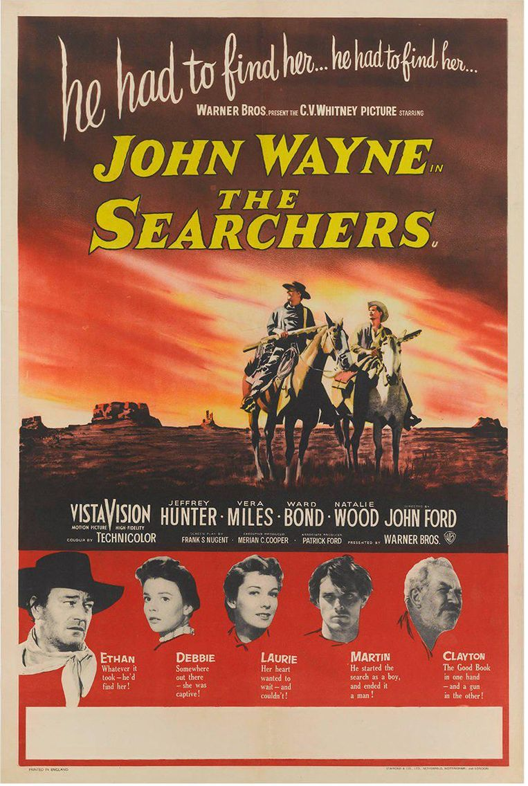 The Searchers (John Ford, 1956). Beeld