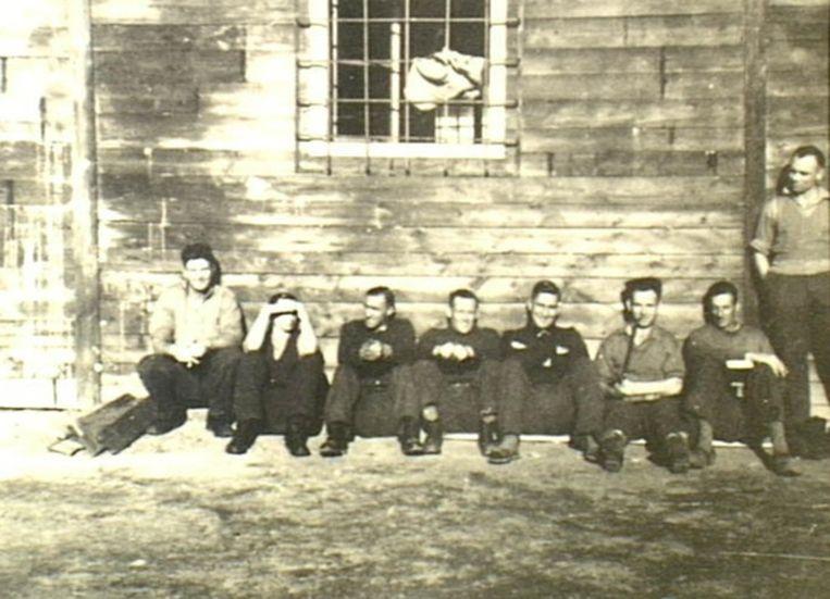 Krijgsgevangen in Stalag XVIII-D. Beeld Alamy