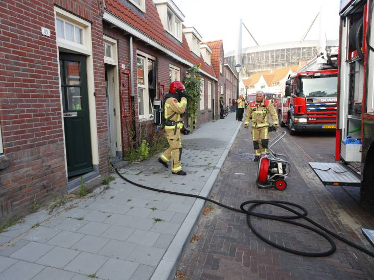 Woningbrand in Eindhoven onder controle