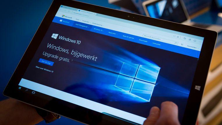 Windows 10 is het nieuwe besturingssysteem van Microsoft.