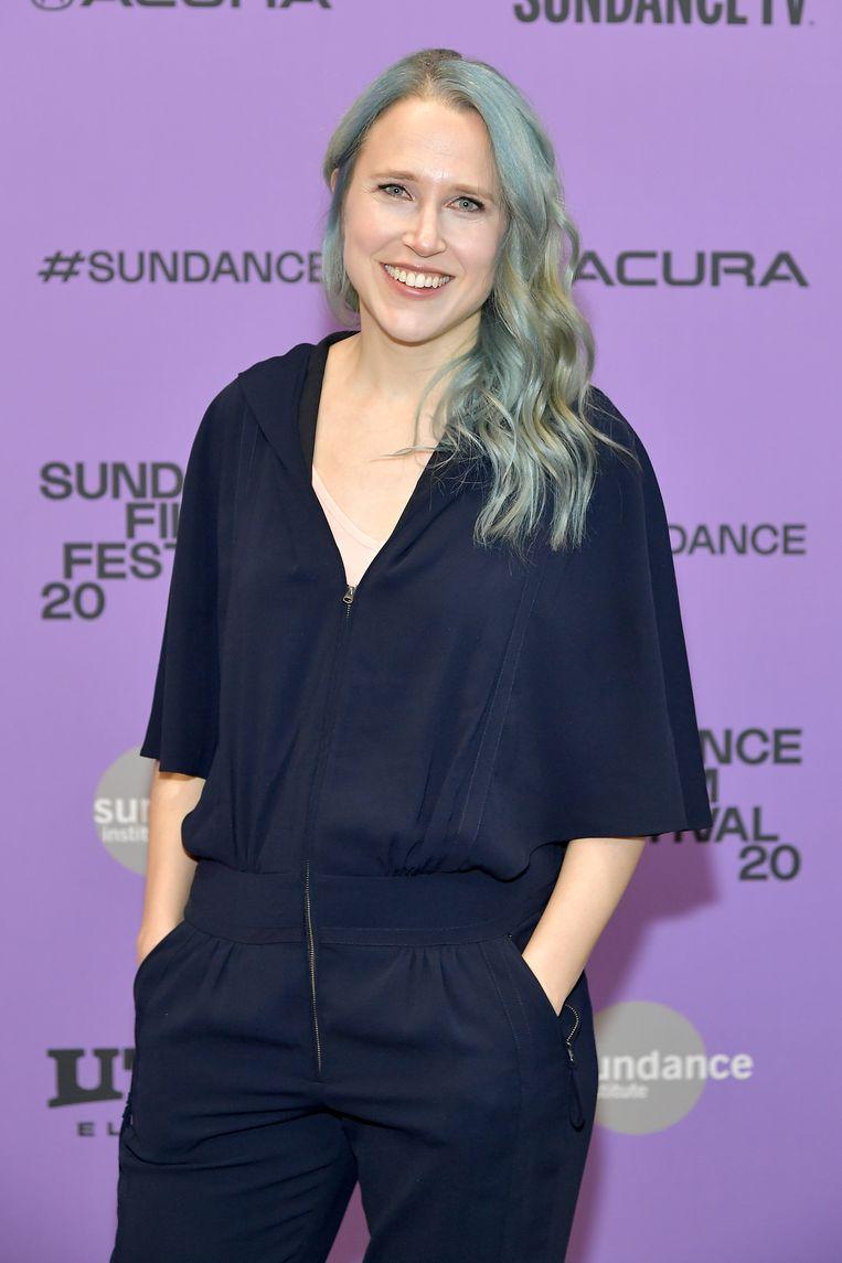Regisseur Josephine Decker in januari op het Sundance Film Festival. Beeld Getty